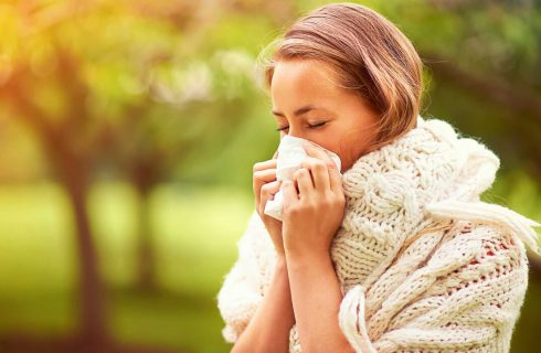 tips for exercising through allergy season