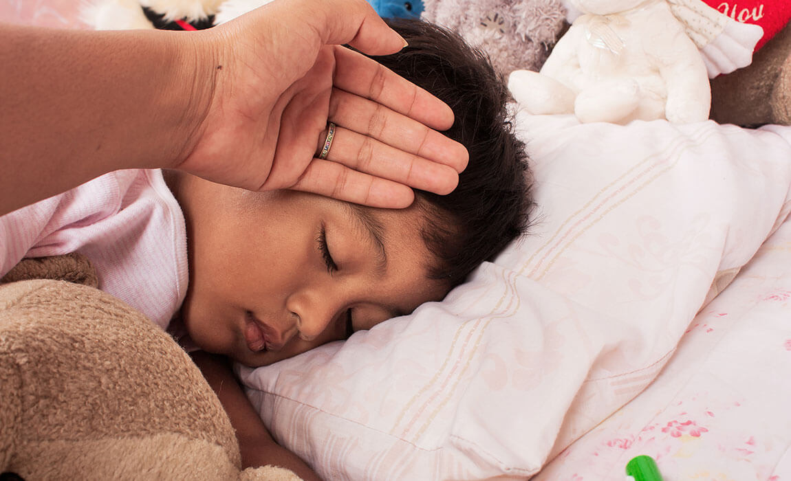 What to Do If Your Child Has a High Fever